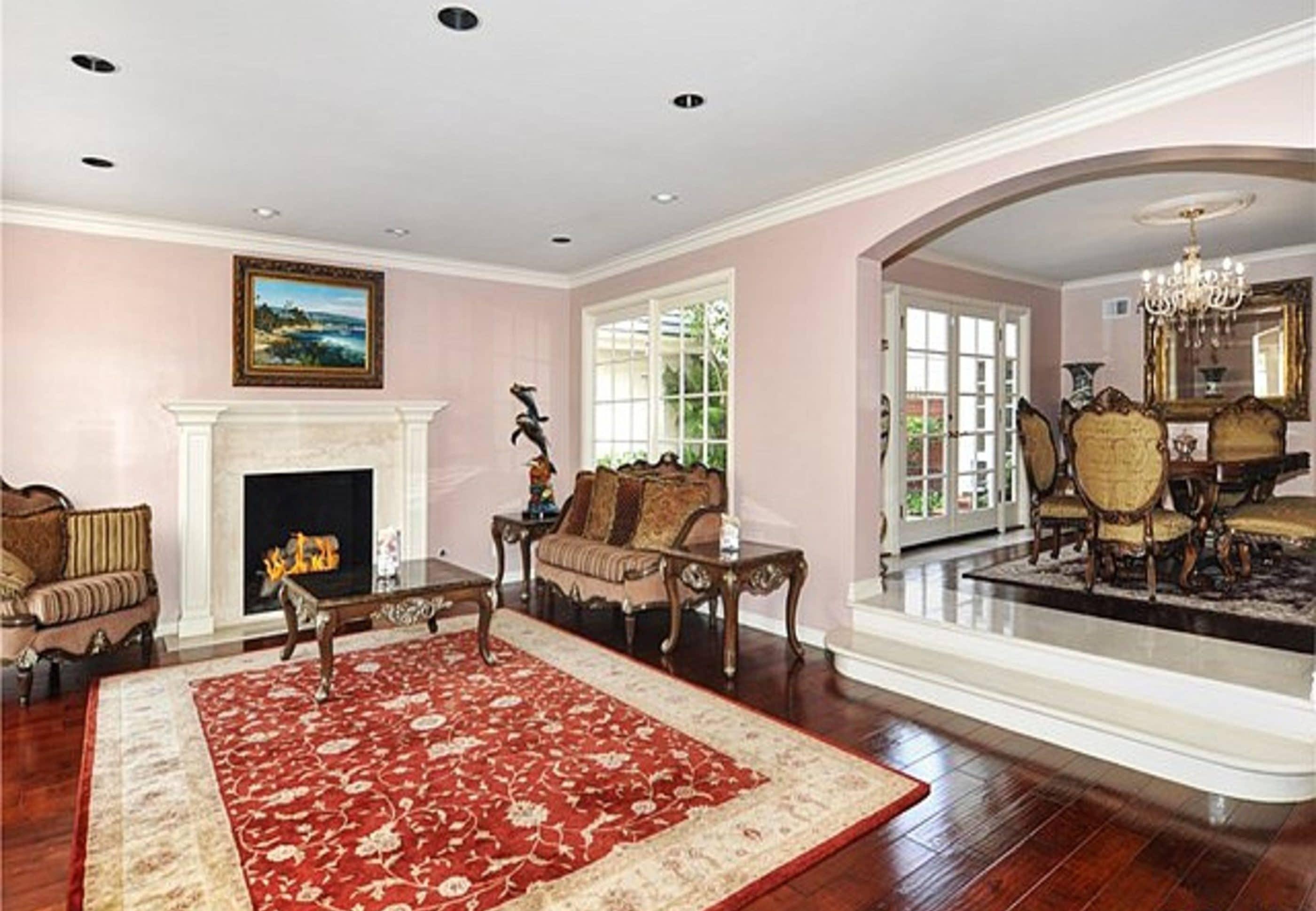 Living rooms interior contemporary interior designer in Orange County