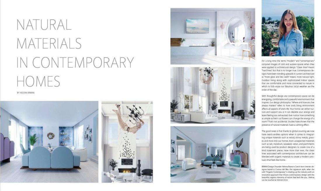 Interior Design Los Angeles BRANA designs Discover Luxury Homes