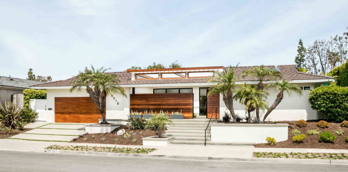 contemporary residence newport beach