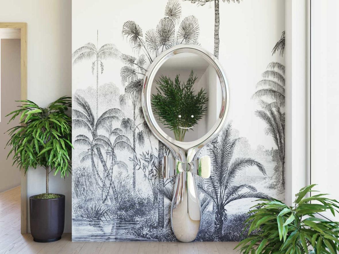modern foyer luxury interior design