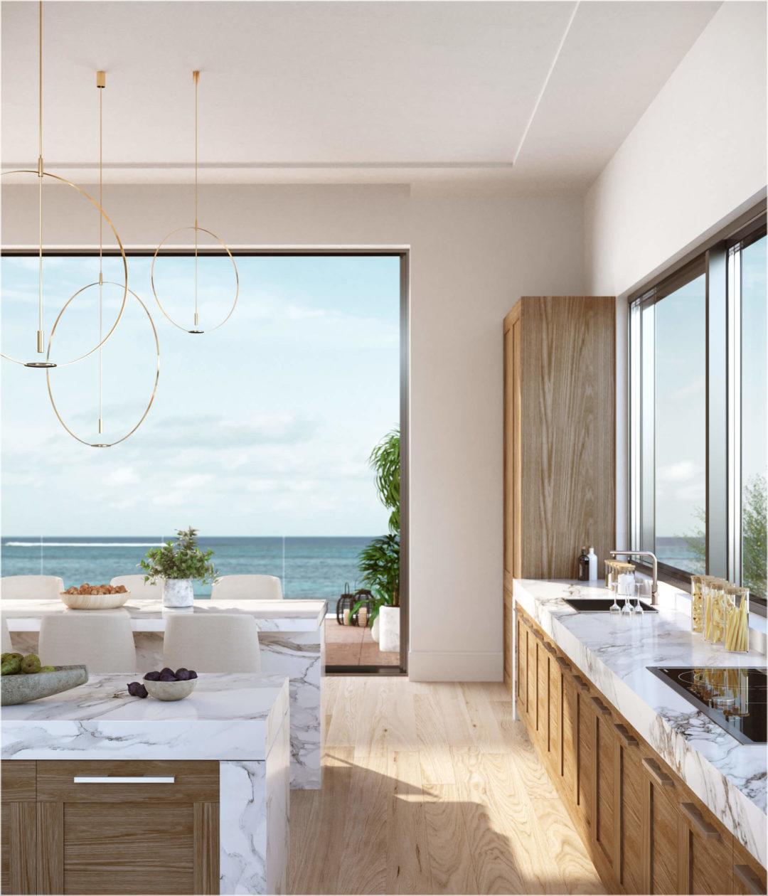 newport beach modern kitchen design