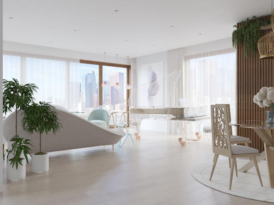 luxury apartment los angeles