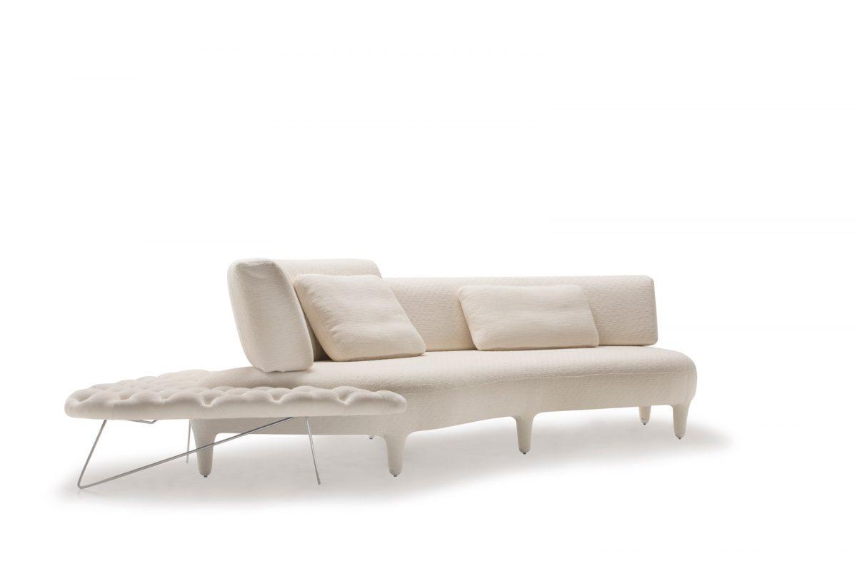 unique contemporary curved sofa