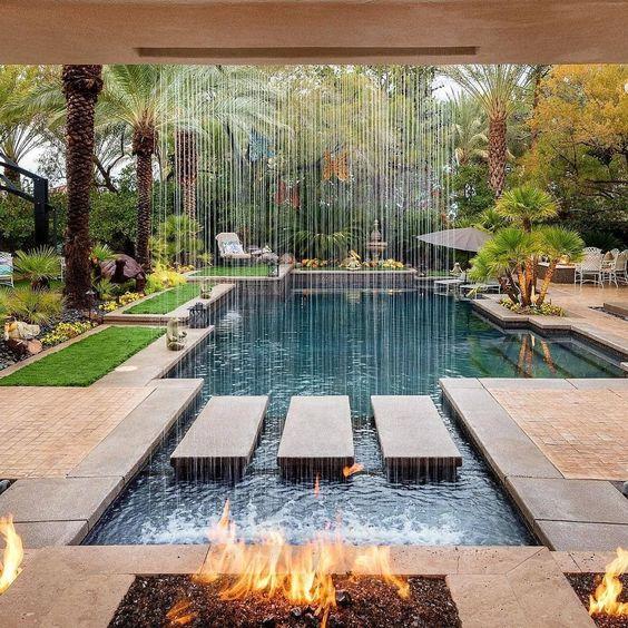 contemporary zen garden