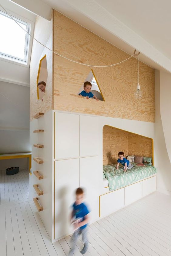 modern kids rooms