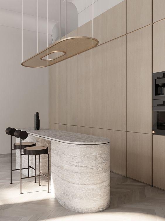 contemporary kitchen sleek design
