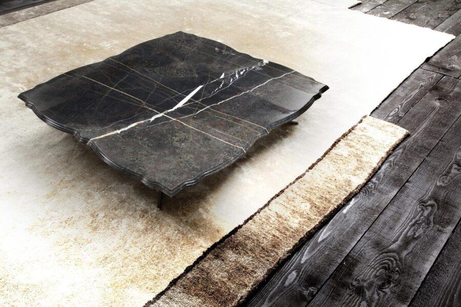 Contemporary design erba rock coco table