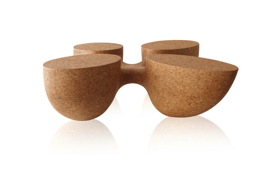 contemporary design coffee table natural materials