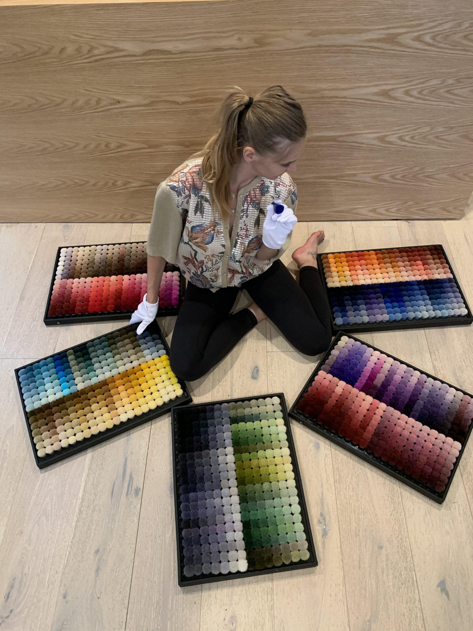 contemporary rug designer helena brana