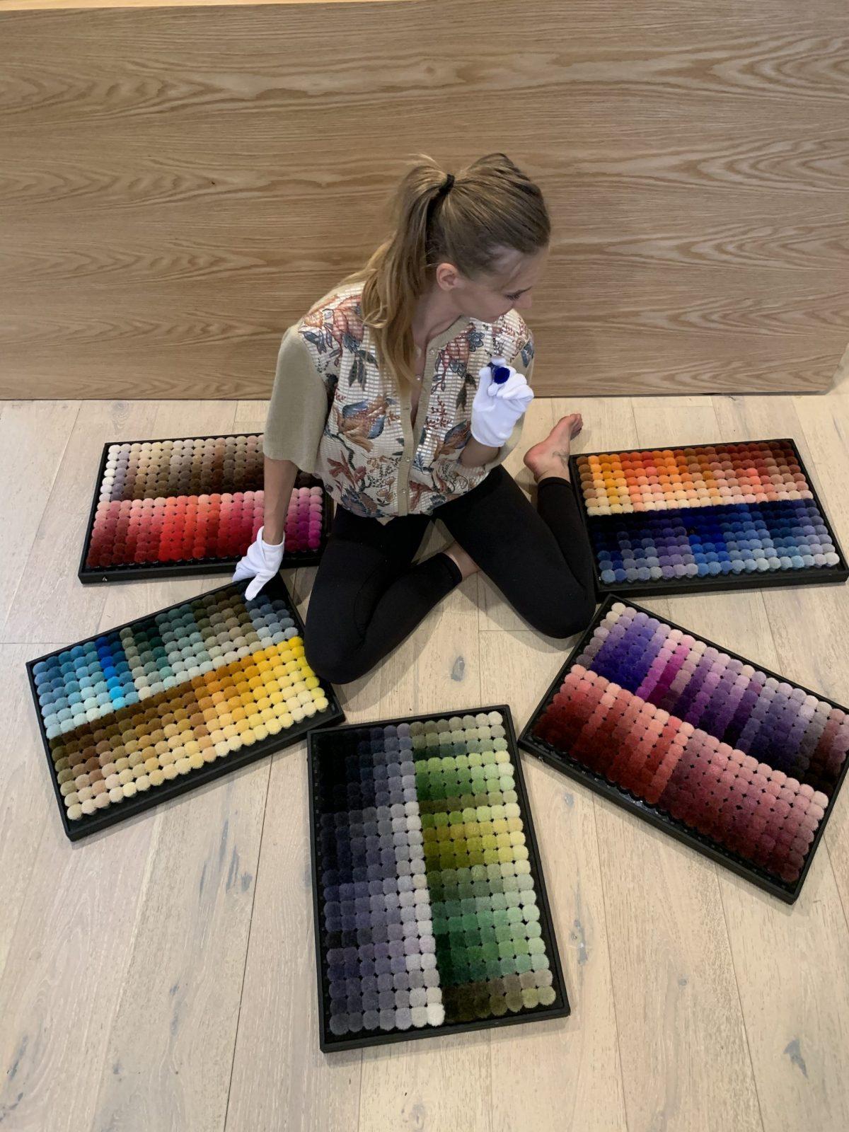 luxury modern rugs Helena Brana